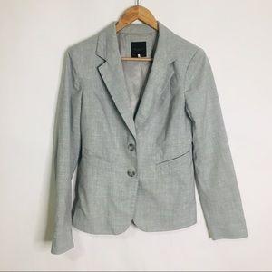 The Limited grey career blazer